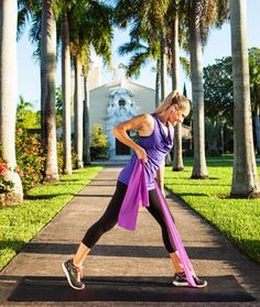 Burn Fat Everywhere - Resistance Band Workout: 8 Resistance Exercises for Total-Body Sculpting - Shape Magazine Check out the website for Abs Workout Video, Toning Workouts, Fun Workouts, Glute Exercises, Outdoor Workouts, Post Workout, Jessica Smith, Resistance Workout, Resistance Band Exercises