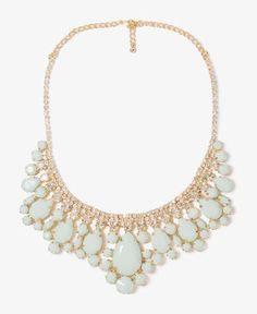 Opaque Teardrop Necklace | Forever21