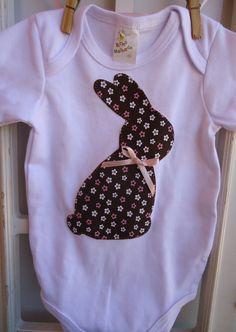 Body Baby Bunny | Bunica Chica | 3B343A - Elo7