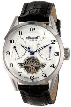 IN6901WH Ingersoll Men's Watch Automatic White Dial Power Reserve Subdial