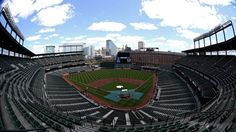 Empty Camden Yards