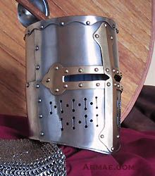 Knights templar great Helm – middle XIIIth century