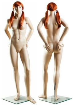 Realistic nude girl mannequins Nutzung! lucky