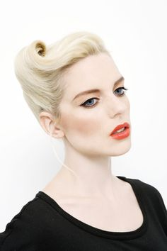 #1950s Hair #makeup #Lucy in Disguise vintage looks