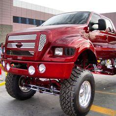 Ford F350 truck Big Monster Trucks, Monster Car, Hummer Truck, 6x6 Truck, Lifted Ford Trucks, Pickup Trucks, F650 Trucks, Cool Trucks, Big Trucks