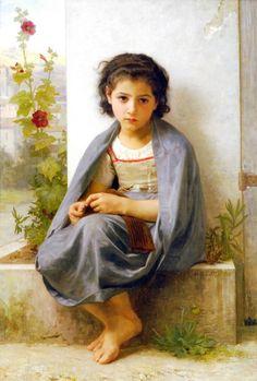 William-Adolphe Bouguereau (La Rochelle, França, 30 de novembro de 1825 – La Rochelle, França, 19 de agosto de 1905) Pintor acadêmico, começou seus estudos em 1838 com Louis Sage, um aluno do…
