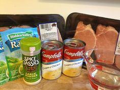 Crockpot ranch pork chops-good plan for dinner tomorrow night!