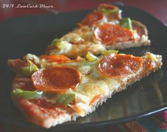 24/7 Low Carb Diner: Turkey Sausage Meatza #lowcarb, #glutenfree