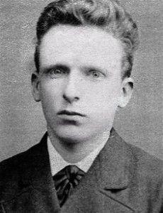Vincent Van Gogh a 19 anni.