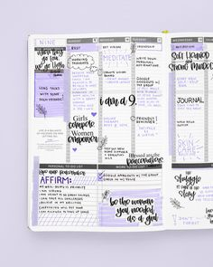 Planner Tips, Planner Layout, Planner Pages, Weekly Planner, Discbound Planner, Passion Planner, Happy Planner, Kaizen, Enneagram Types