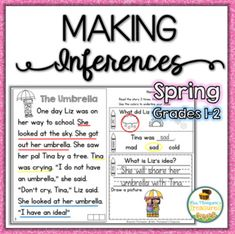 It's never too early to get your students interacting with the text they are reading Help your students become more confident readers with these fun and interactive passages! These are perfect for helping students build fluency, make inferences, and improve reading comprehension, laying a great foun...