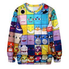 2c7668a827c Click to Buy    2017 Autumn New fashion Men Cartoon Characters 3D  sweatshirts.