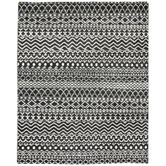 LR -- big. Tie together a cozy lodge-inspired living room look or complement a black and white master suite ensemble with this chic handmade rug, featuring a flatweave design in asphalt.