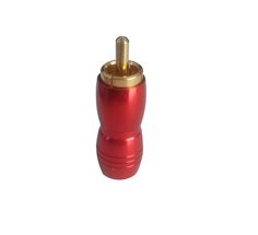 Copper high quality RCA Plug Screws Soldering Audio video connector-Changzhou Yi Yue Electronic Factory