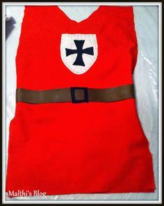 Malthi's Blog: DIY:Simple Knight Costume for Boys