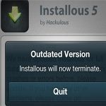 Installous Error - Outdated Version: Hackulous Shuts Down The Service