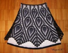 Lamp shade cover crochet chart - though I think this pattern would make an awesome skirt - with cotton and lace :)