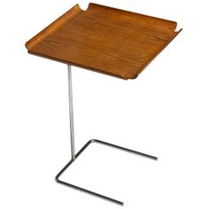 George Nelson Adjustable Tray Table | From a unique collection of antique and modern side tables at http://www.1stdibs.com/furniture/tables/side-tables/