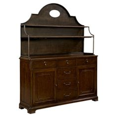 Cattigan Cupboard & Hutch in Cherry