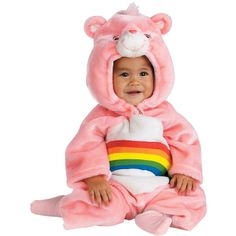 Costume Store - Cheer Bear (Care Bears) Toddler/Infant Costumes