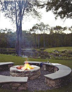 Stunning Backyard Fire Pit Ideas With Cozy Seating Designs 111
