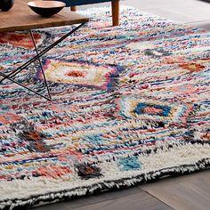 Buy west elm Charm Wool Rug, Multi Online at johnlewis.com