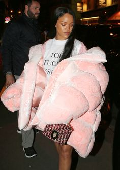 The temperatures haven't even come near freezing yet, but celebrities aren't waiting for snow to show off their new winter duds. From Rihanna's extra large parka to Gigi Hadid