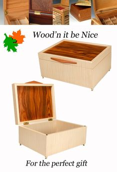 Handcrafted wood keepsake box. Quality built and the perfect gift for anyone, and any occasion. Built of quality materials to ensure a lifetime of use and enjoyment. #woodbox #keepsakebox #jewelry box 5th Wedding Anniversary, Wood Boxes, Keepsake Boxes, Wood Art, Decorative Accessories, Jewelry Box, Etsy Seller, Creative, Gifts