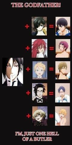 Omg Sebastian did it with everyone hahaha | He's just 'one hell of a butler'