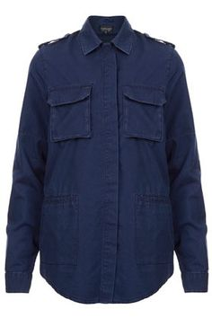 free shipping c75d5 1e617 MOTO Military Indigo Shirt ( 20-50) - Svpply