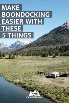 If you've never boondocked or dry camped before, knowing what to bring can be tricky. Check out our list of must-have items that you won't want to forget. #boondocking #freecamping #rving #camping #rvlife
