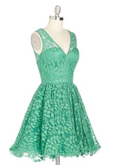 Darling, Please Dress in Jade | Mod Retro Vintage Dresses | ModCloth.com