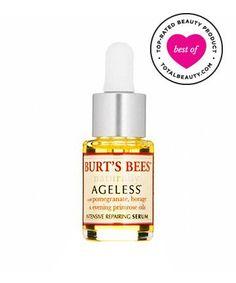 Best Anti-Aging Serum No. 15: Burt's Bees Naturally Ageless Intensive Repairing Serum, $14.99