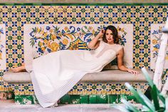 Barcelona bridal shoot ¡Love it! {Foto, En Route Photography} #weddinginspiration #brides #novias #tendenciasdebodas