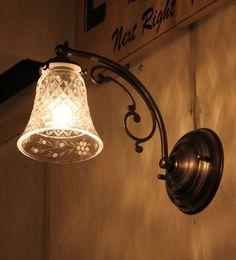 【LED対応】デザインがとっても可愛い屋内用ウォールランプ。。W110A 006 ウォールランプ rmp wlp( ウォールランプ 壁掛けライト ブラケット 照明 LED電球 おしゃれ ) キャンドール