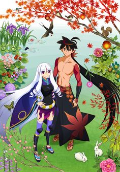 Katanagatari The ultimate sword technique that uses no swords! Kyoutoryuu! This anime is a needed to be watched action packed romance that keeps you on your toes and keeps you guessing. The art is fantastic as well.