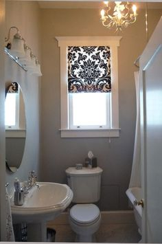 "Alt=""bathroom curtains for small windows"""