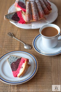 Glaze For Cake, Polish Recipes, Polish Food, Homemade Cakes, Coffee Cake, French Toast, Dessert Recipes, Food And Drink, Cooking Recipes