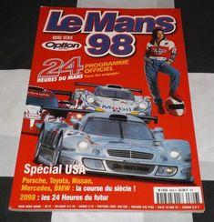 OFFICIAL LE MANS 24 HOURS 1998 RACE PROGRAMME PORSCHE 911 GT1-98 NISSAN R390 R7