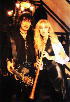 Ritchie Blackmore & wife Candice Night- Blackmore's Night Ruby Rose Hair, Blackmore's Night, Best Guitarist, British American, Renaissance Fair, Best Rock, American Traditional, Beautiful Voice, Kinds Of Music