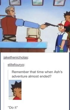 I don't watch Pokemon but this is hilarious! Pokemon Funny, Pokemon Memes, All Pokemon, Memes Humor, Funny Memes, Funny Shit, The Funny, Hilarious, Daily Funny