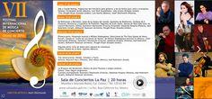 VII Festival Internacional de Música de Concierto Otoño de 2016, 17-oct, Sala de Conciertos La Paz, La Paz