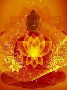 The Power of AUM. A Yoga, Meditation and Lifestyle Magazine. Art Buddha, Buddha Zen, Buddha Buddhism, Buddhist Art, Buddha Lotus, Buddha Peace, Buddha Wisdom, Sacred Lotus, Namaste