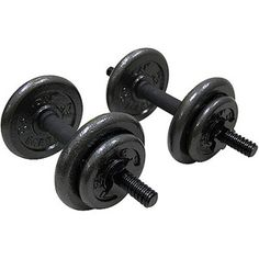 Gold's Gym 40lb Adjustable Dumbbell, Set of 2, Walmart, $38