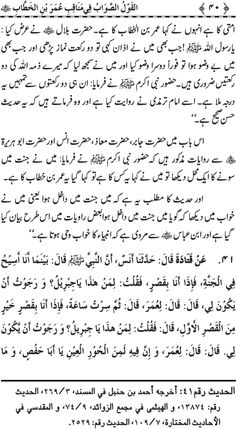 Page # 40 Complete Book: Manaqib.e.Hazrat Umar Bin Al Khatab (R.A) --- Written By: Shaykh-ul-Islam Dr. Muhammad Tahir-ul-Qadri