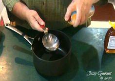 Use Cooking Spray to Measure Honey | Jazzy Gourmet