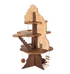 Nova Natural Toys + Crafts - Playing - Fairy Treehouse