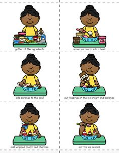 Many students struggle with executive function skills – things like prioritizing, focusing, organizing, completing tasks, or understanding cause and effect. These sequencing activities provid… Autism Activities, Preschool Education, Language Activities, Educational Activities, Art Education, Sorting Activities, Special Education, Teaching Resources, Pete The Cat Author