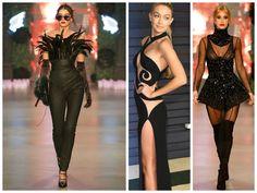 Black Beauty #paris #couture #runway #black #fashion