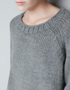BASIC SWEATER - Knitwear - Woman - ZARA